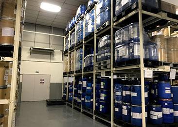 distribuidora e fracionadora de insumos armazenamento